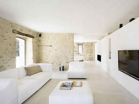 Rénovation d'une villa à Nice