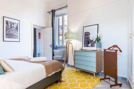 Rénovation d'une chambre à Villeneuve-Loubet