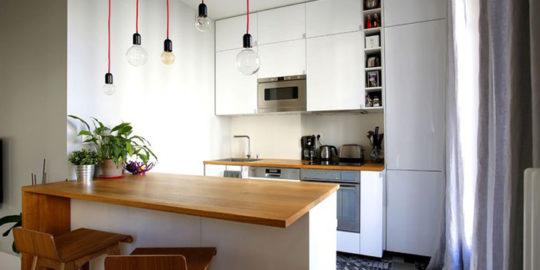 Rénovation d'une cuisine au Cap d'Ail